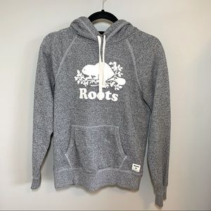 ROOTS Salt and Pepper Classic Hoodie